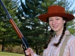 Cowgirl Shootist. .
