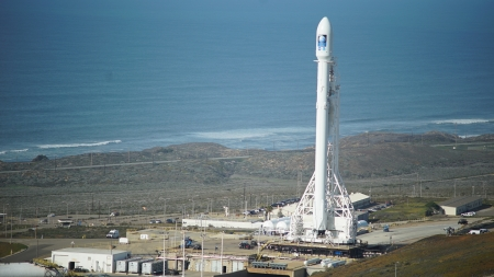 SpaceX Falcon 9 - Platform, Rocket, SpaceX, Falcon, Space