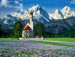 Church in German Alps