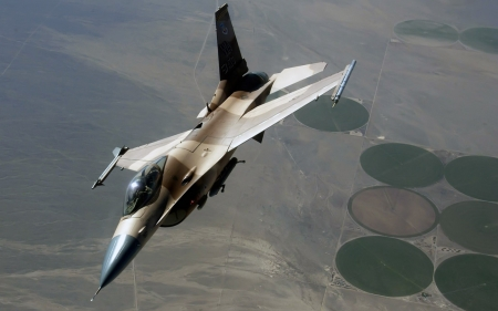 F-16 - Aircraft, AirForce, F16, Fighter