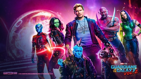 Guardians of the Galaxy Vol. 2 - The Advengers, Star Wars, Iron Man, Thor