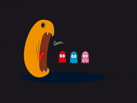 pacman - video, pacman, game, ghost