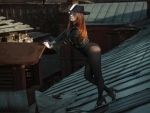 Rooftop Cowgirl. .