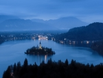 Lake Bled at Dusk