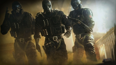 tom clancys rainbow six - rainbow, tom, six, clancys, siege