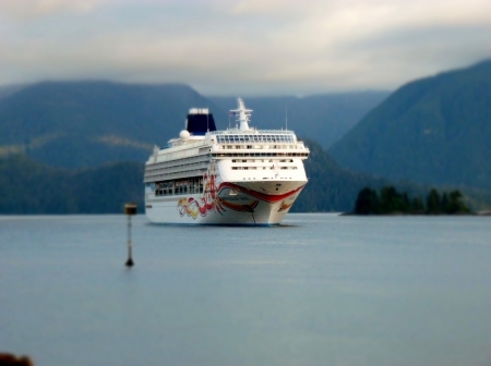 Norwegian Sun - alaska, vacation, cruise ship, sitka