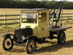 model t ford tow truck