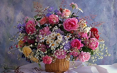 Beautiful Flowers - bloom, flowers, petals, still life