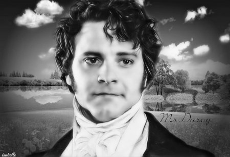 Mr.Darcy ~ - actor, scenery, appeal, handsome, black, Colin Andrew Firth, Mr Darcy, nature, looks, Gentleman