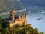 Castle of Katz, Rhine, Germany