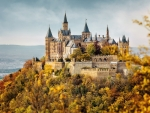 Hohenzollern Castle in Autumn, Germany
