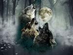 Howling Wolves Moon