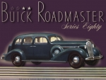 1936 Buick Roadmaster 4 door sedan