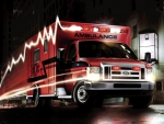 ford e450 super duty ambulance truck