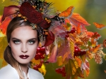 Avant Garde Autumn Girl