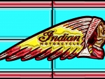 Indian Motorcycle Glass effect