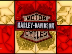 1930 Harley Davidson Shield glass
