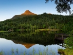 Sunset on Glencoe Lochan