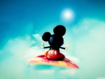 Mickey on the magic carpet