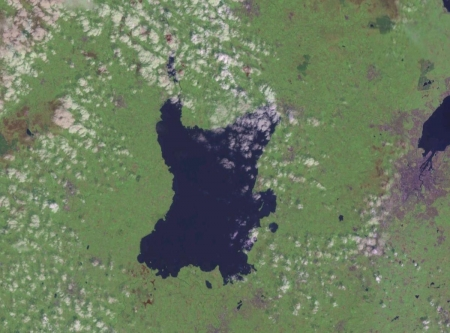Lough Neagh - Northern Ireland (From Space) - Loughs, United Kingdom, Lakes, Northern Ireland, Lochs, Lough Neagh