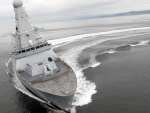 HMS Daring. TYPE 45 Air Defence Destroyer