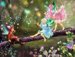 Fairies Playing