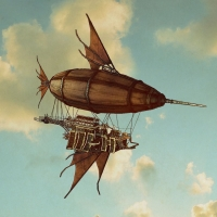 Steampunk - Airship the Goldfish
