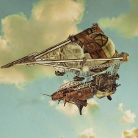 Steampunk - Airship the Pyramidion