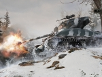 World of Tanks - M4A1 Firing