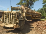 m911 military logging truck