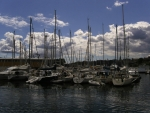 Sailboats at the dock