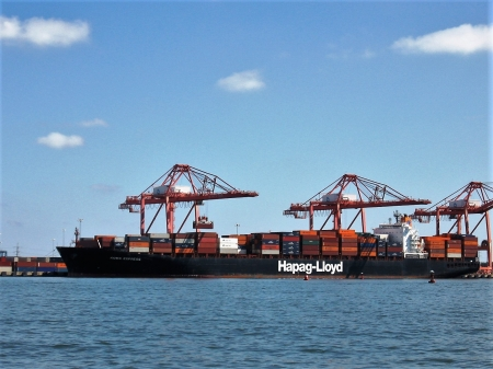 Container Ship - Virginia, Container Ship, Commercial Ships, Portsmouth