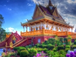 Buddhist Temple in Thailand