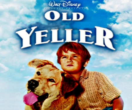 Old Yeller - Entertainment, Yellow, Old, Yeller, Boy, Redhead, Dog, Movies