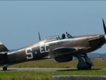 WW2 Hurricane Fighter