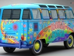 1963 Volkswagen T2 Samba Bus - Flower Power