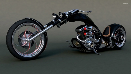 Harley chopper - Motorcycle, Chopper, Wheels, Harley
