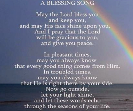 A Blessing Song - Nature, Colorful, Song, Blessing, Rainbows