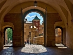 Gate in Wawel, Krakow, Poland