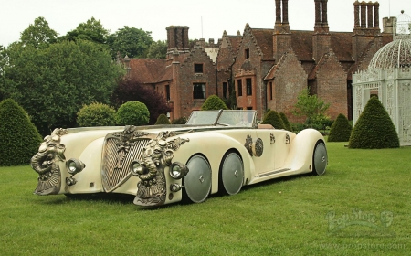 Steampunk The League Of Extraordinary Gentlemen. The Nautilus Car - Gentlemen, Car, Extraordinary, Nautilus, Steampunk, League