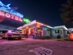 Blue Swallow Motel - Route 66