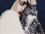 Beauty and owl