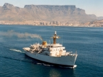 WORLD OF WARSHIPS  South African Navy SAS Protea Deep Ocean hydrographic survey ship UK Hecla Class