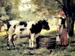 The Milkmaid - Cow