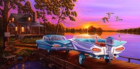 Gone fishing backgrounds