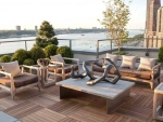 Roof Terrace by River