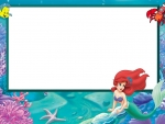 Little mermaid card