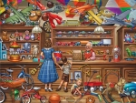 Vintage toy-store
