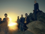 linkin park in the sunset