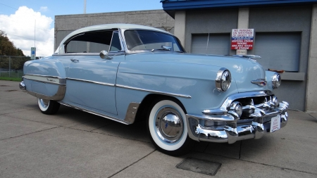 1953 chevrolet bel air 2 door hardtop american oldies for 1953 chevy belair 2 door hardtop